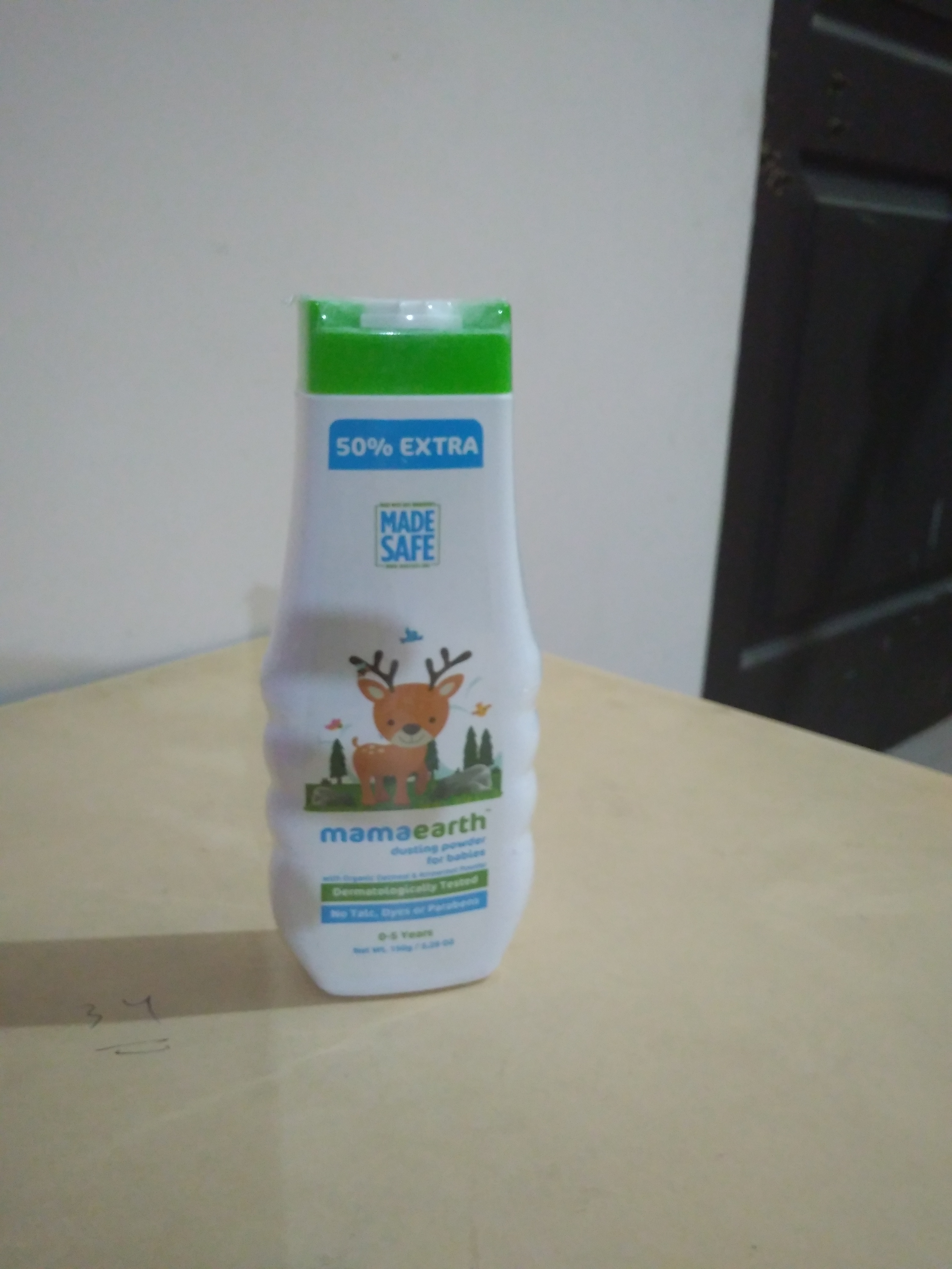 Mamaearth Talc Free Organic Dusting Powder for Babies, Arrowroot and Oat Starch-Mamaearth Dusting Powder really very nice-By jigna1234
