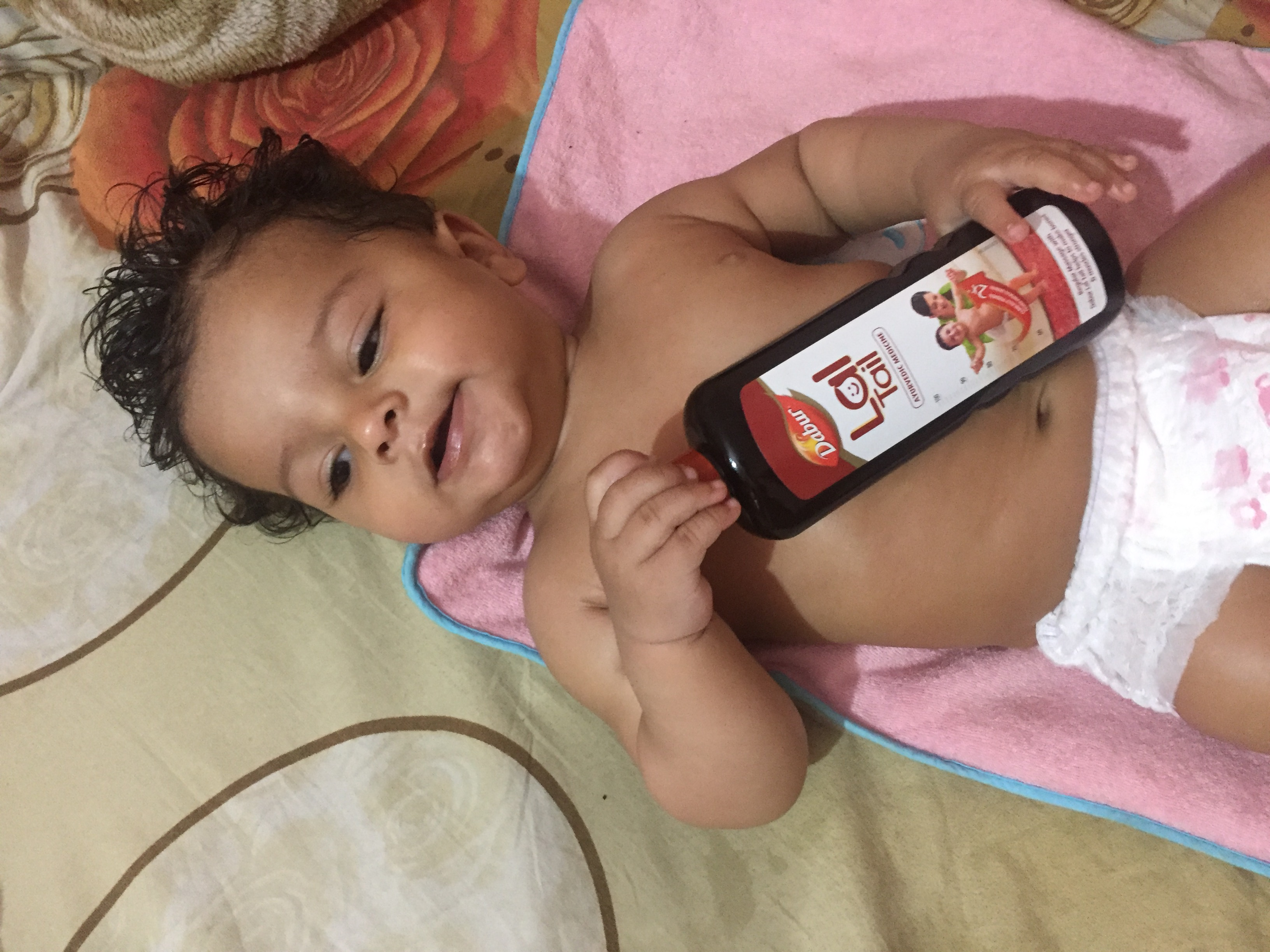Dabur Lal Tail-Strengthens bones and makes baby active-By diligentmommy