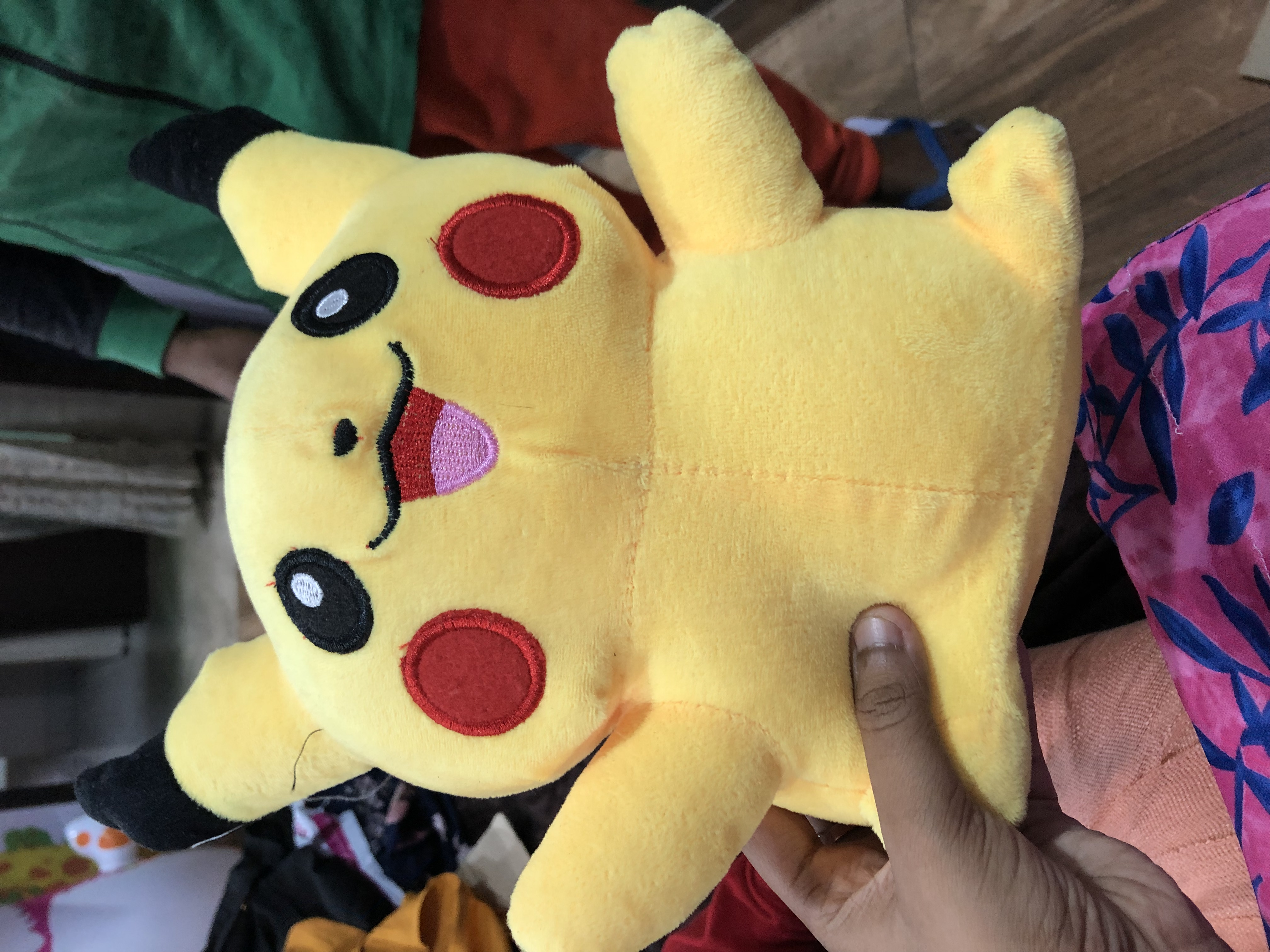 Pokemon Pikachu Plush Toy-Pokemon pikachu toy-By garimabagga