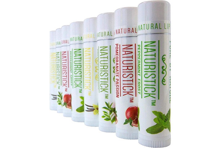 8 Pack Lip Balm Gift Set by Naturistick