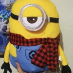 Minions Stuart Plush Soft Toy-Minion plush toy-By dharanirajesh16