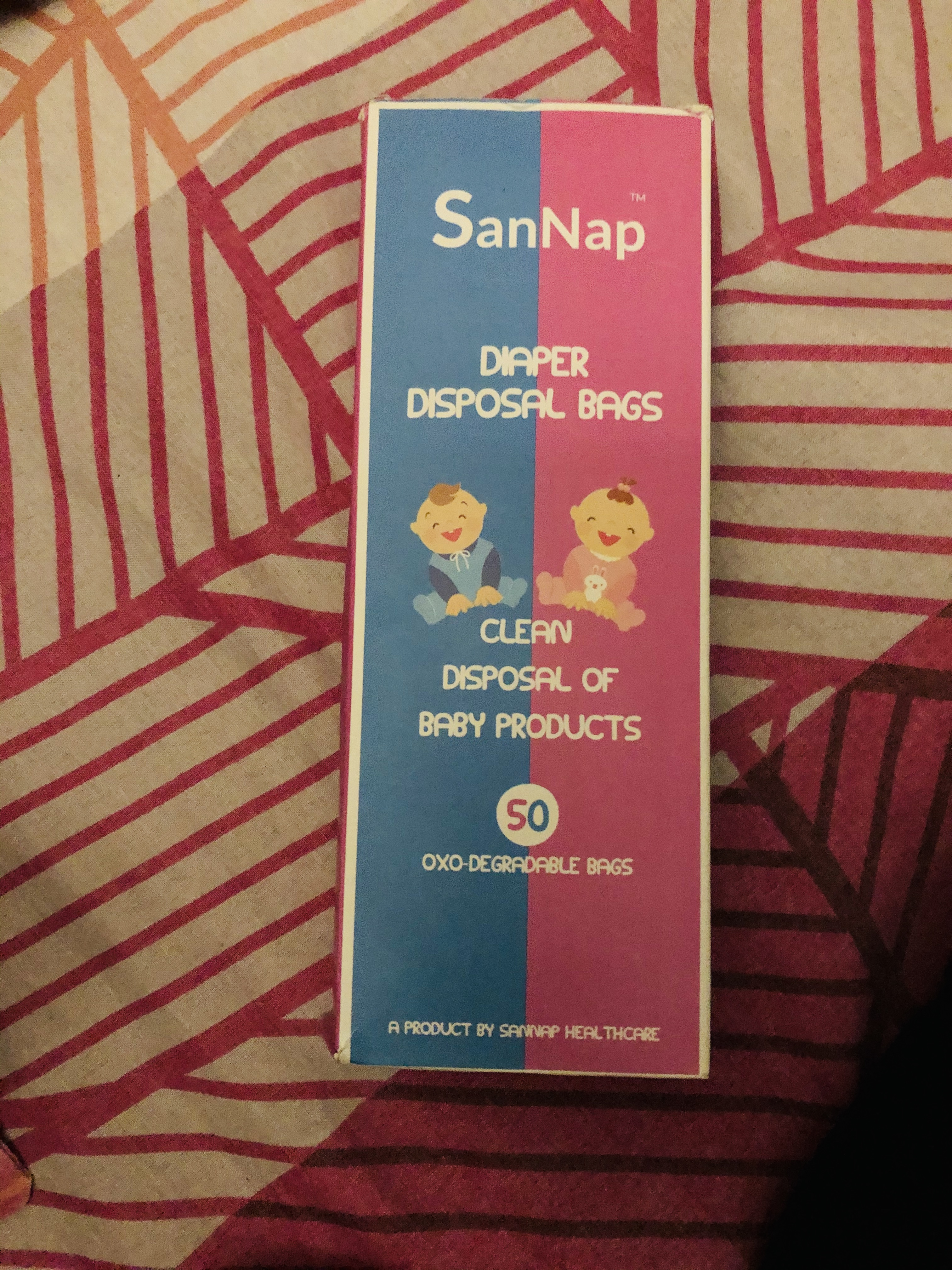 SanNap Baby Diaper Disposal Bags-Life Saving and easy to carry-By sonalgala