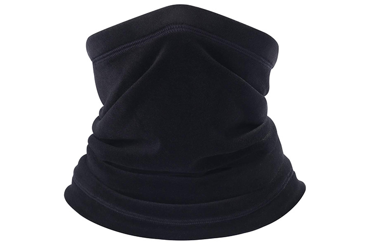 BINMEFVN Polar Fleece Neck Warmer
