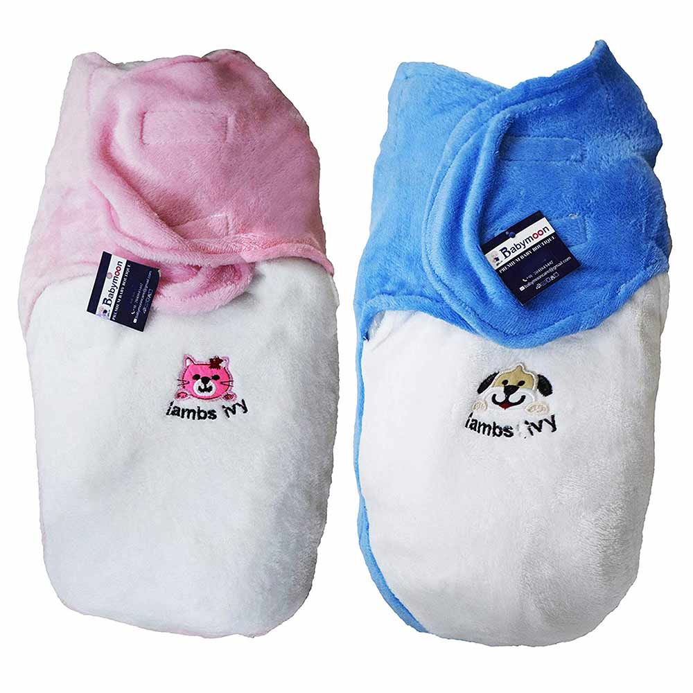 Babymoon Organic Cotton Velvet Swaddle Wrap