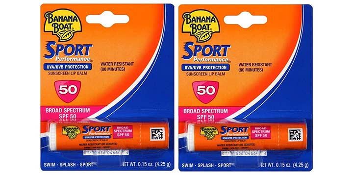 Banana Boat Sport SPF 50 Sunscreen Lip Balm