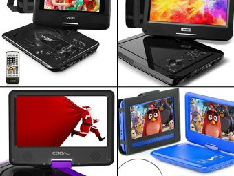 14 Best Portable DVD Player For Kids In 2020