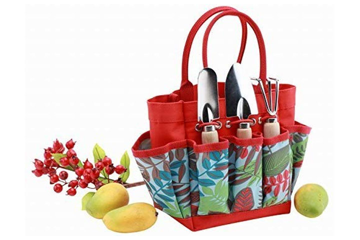 Bo Garden Tool Set With Tote Bag