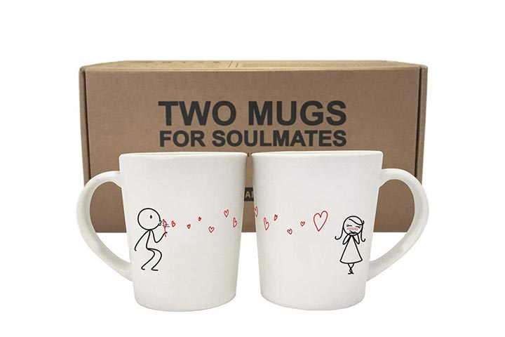 BoldLoft couple mugs set