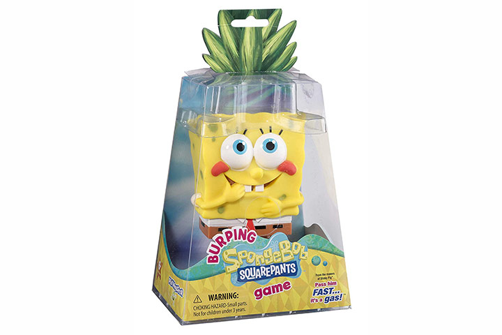 Burping SpongebobSquarepants Game