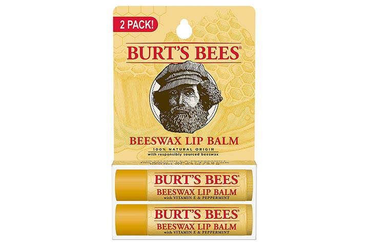 Burt's Bees 100% Natural Origin Moisturizing Lip Balm