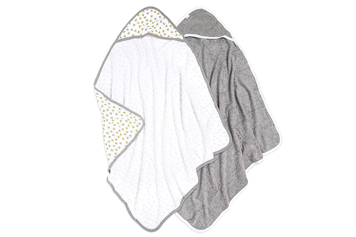 Burt's Bees Baby - Hooded Towels
