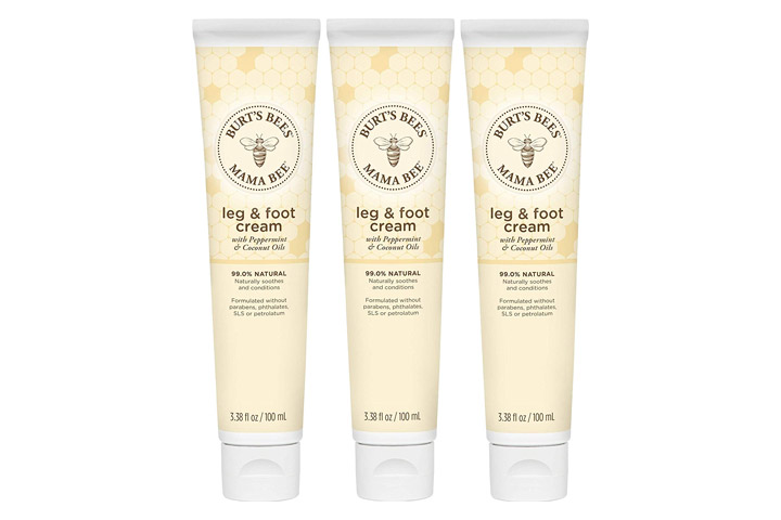 Burt's Bees Mama Bee Leg & Foot Cream With Peppermint Oil