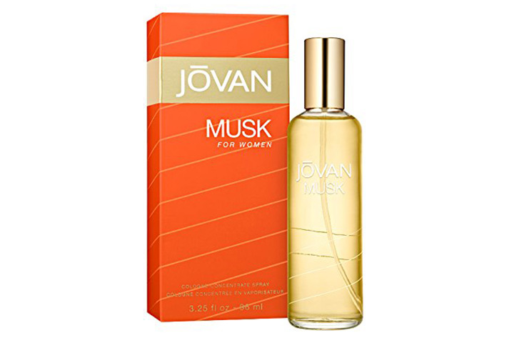 Coty Jovan Musk Women Cologne Concentrate Spray