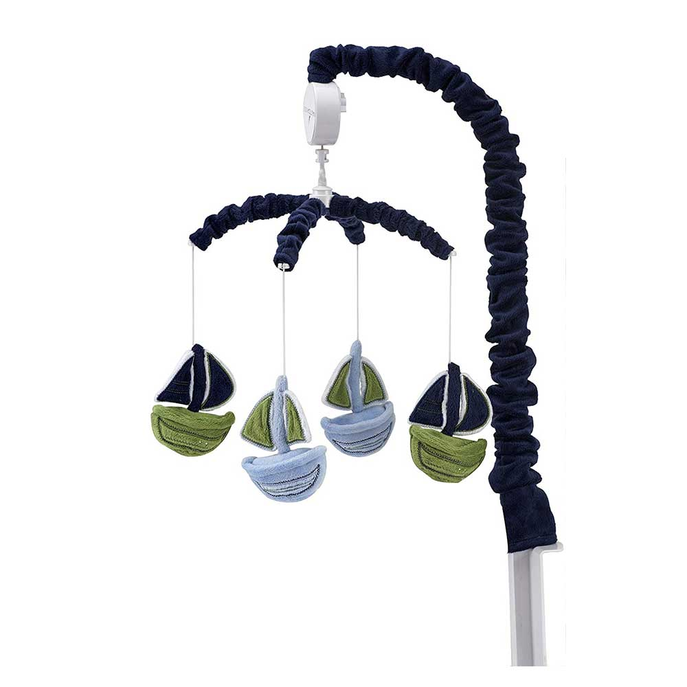 Crown Crafts Nautica Zachary Musical Mobile