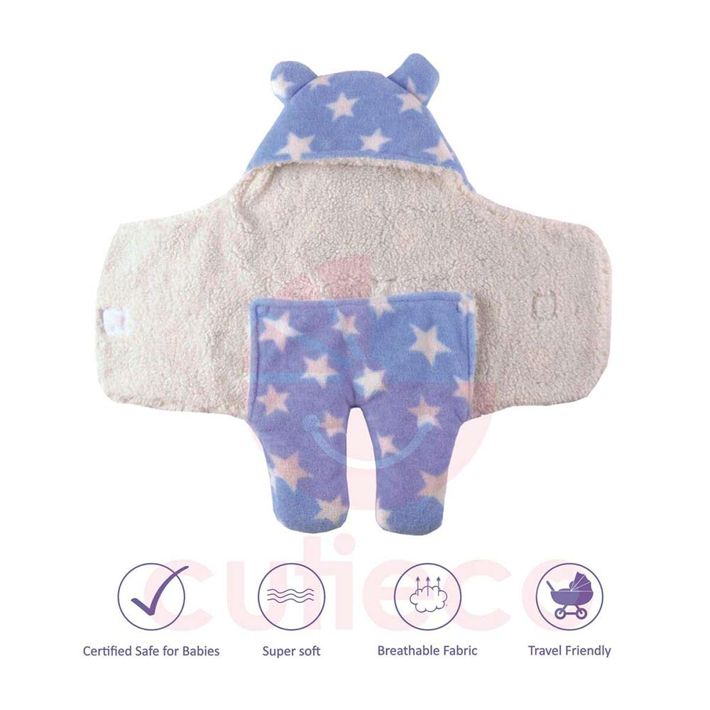 Cutieco Luxury Series Super Soft Baby Wrapper