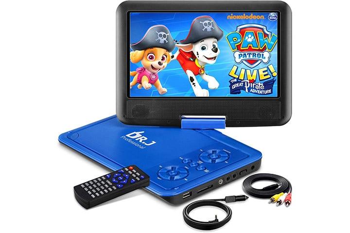 DR. J 11.5 Portable DVD Player