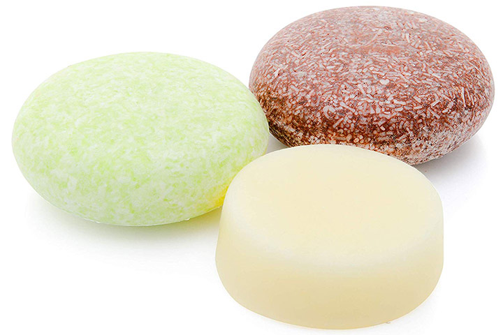 Detox Earth Solid Shampoo and Unscented Conditioner Bar Set
