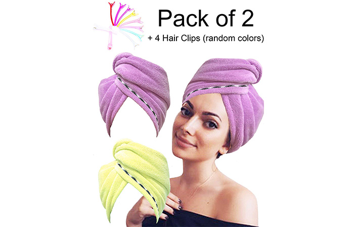 Eurica Head Wrap Hair Towel