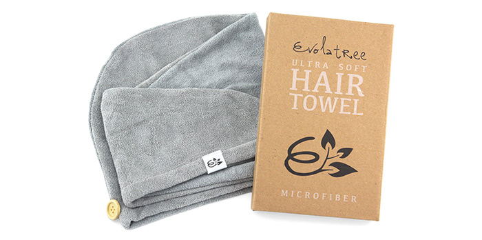 Evolatree Microfiber Hair Towel Wrap