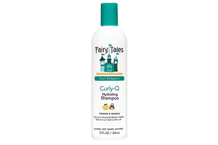 . Fairy Tales Curly-Q Daily Hydrating Shampoo For Kids