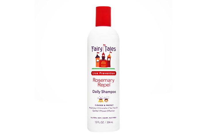 Fairy Tales Rosemary Repel Daily Kid Shampoo For Lice Prevention