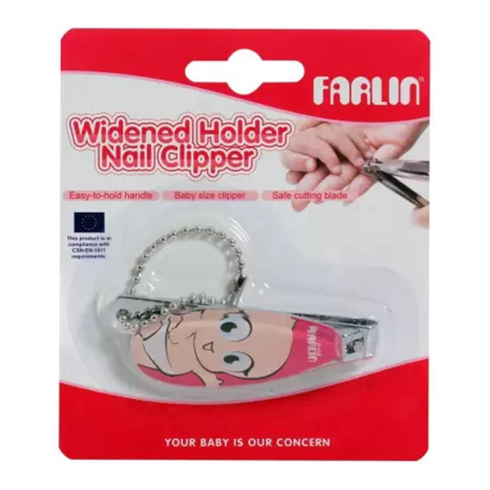 Farlin Wide Holder Baby Nail Clipper