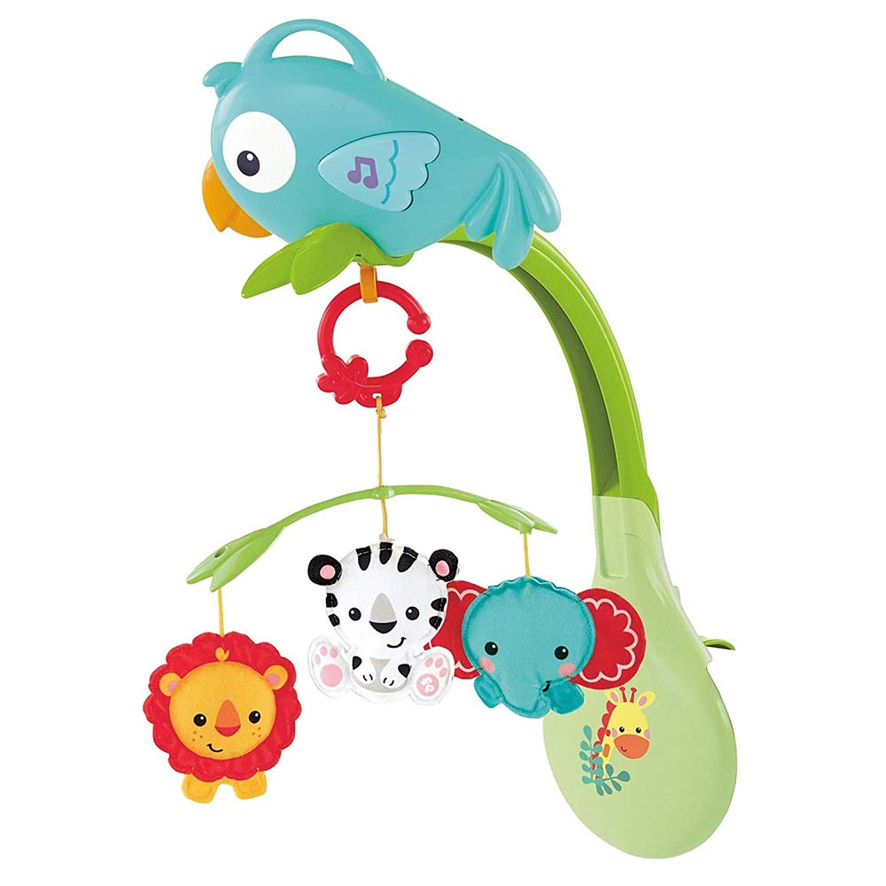 Fisher-Price 3-in-1 Rainforest Musical Mobile