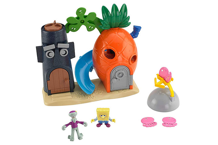 Fisher-Price Imaginext Spongebob Bikini Bottom Playset