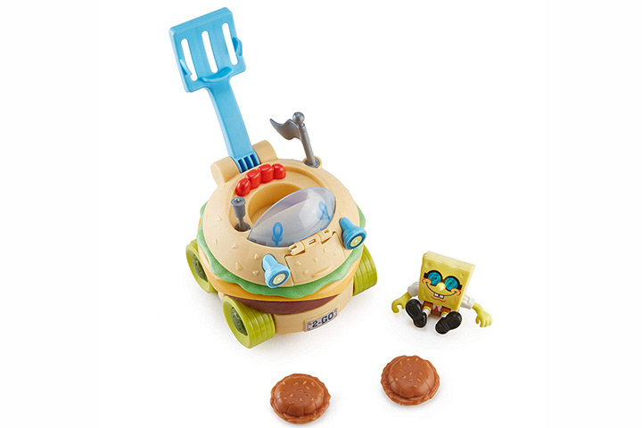 Fisher-Price ImaginextSpongebobSquarepantsKrabby Patty Wagon