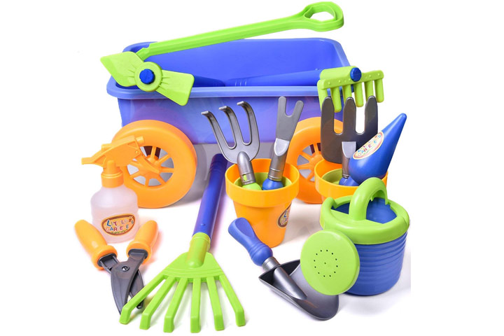 Fun Little Toys Kids Garden Tool Toys Set