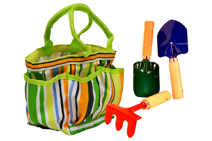 G & F Products Kids' Garden Tote With Tools
