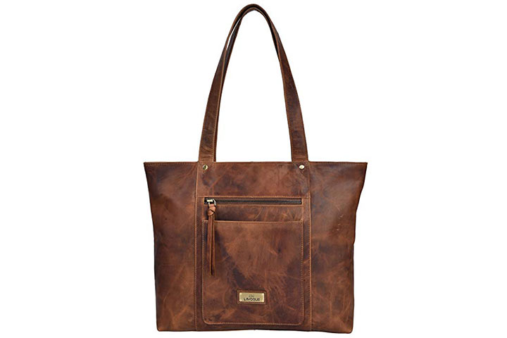 Genuine Leather Crossbody Handbag For Women