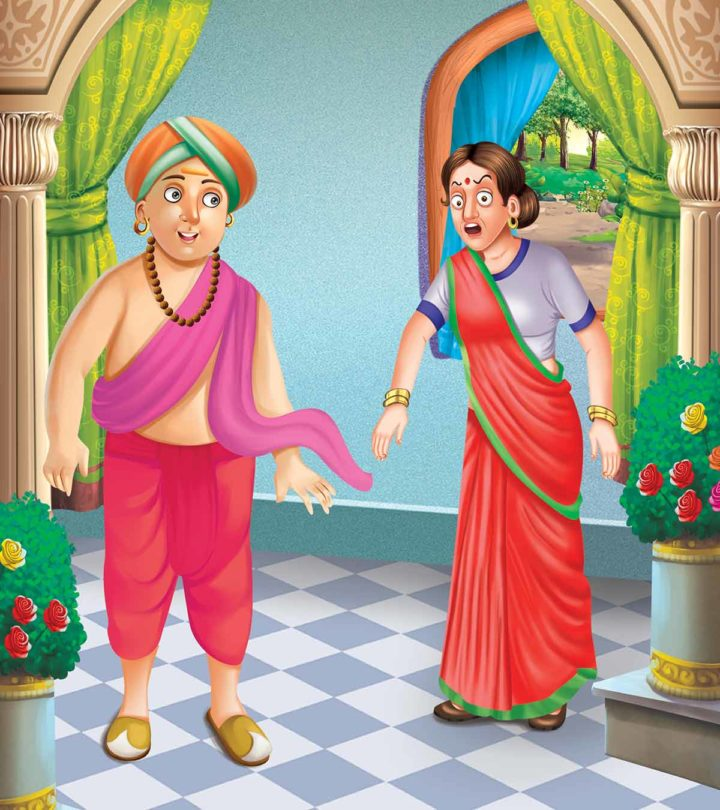 Tenali Rama Story Handful Of Grain And One Thousand Gold Coins