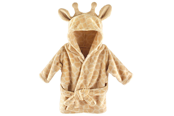 Hudson Baby Unisex Baby Plush Animal Face Robe