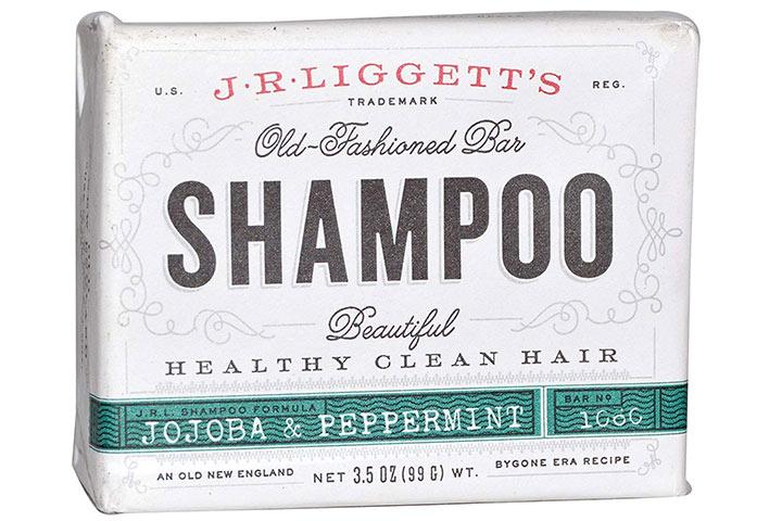 J. R. Liggett Jojoba and Peppermint Shampoo Bar