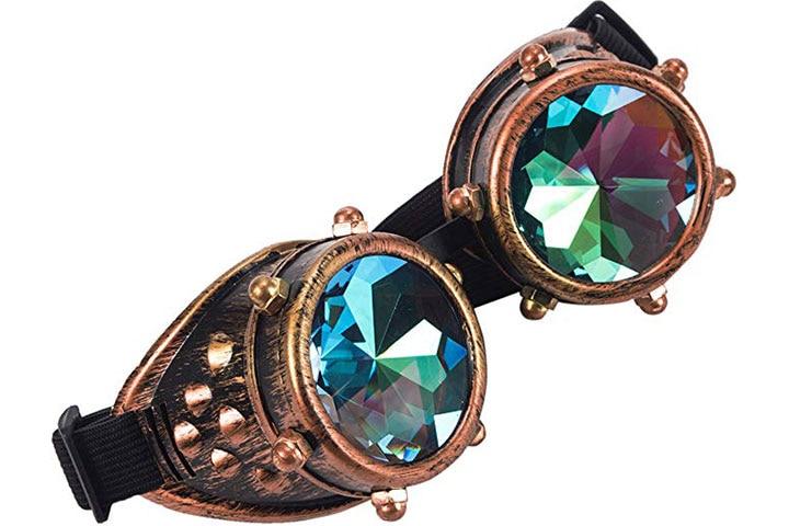 Kaleidoscope Rave Goggles