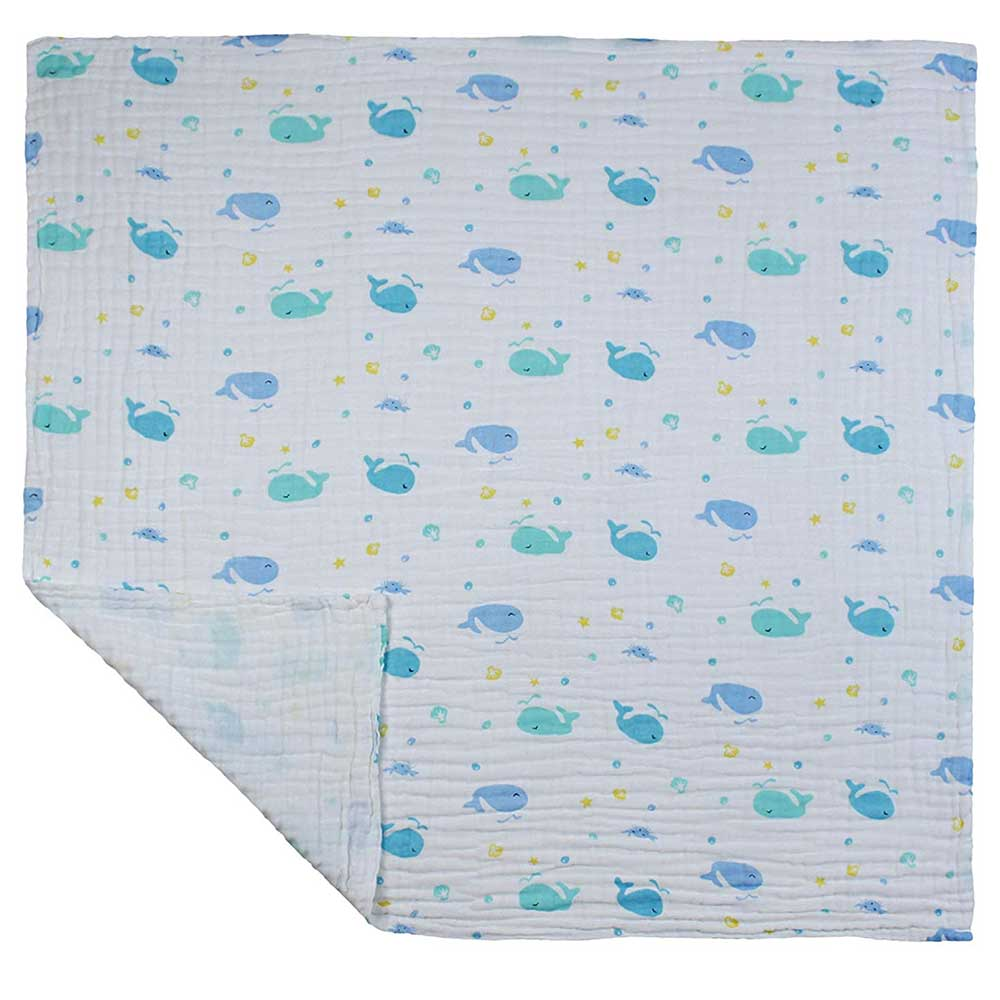 Kassy Pop Curated Just for You Baby Muslin Cotton Bath Towel