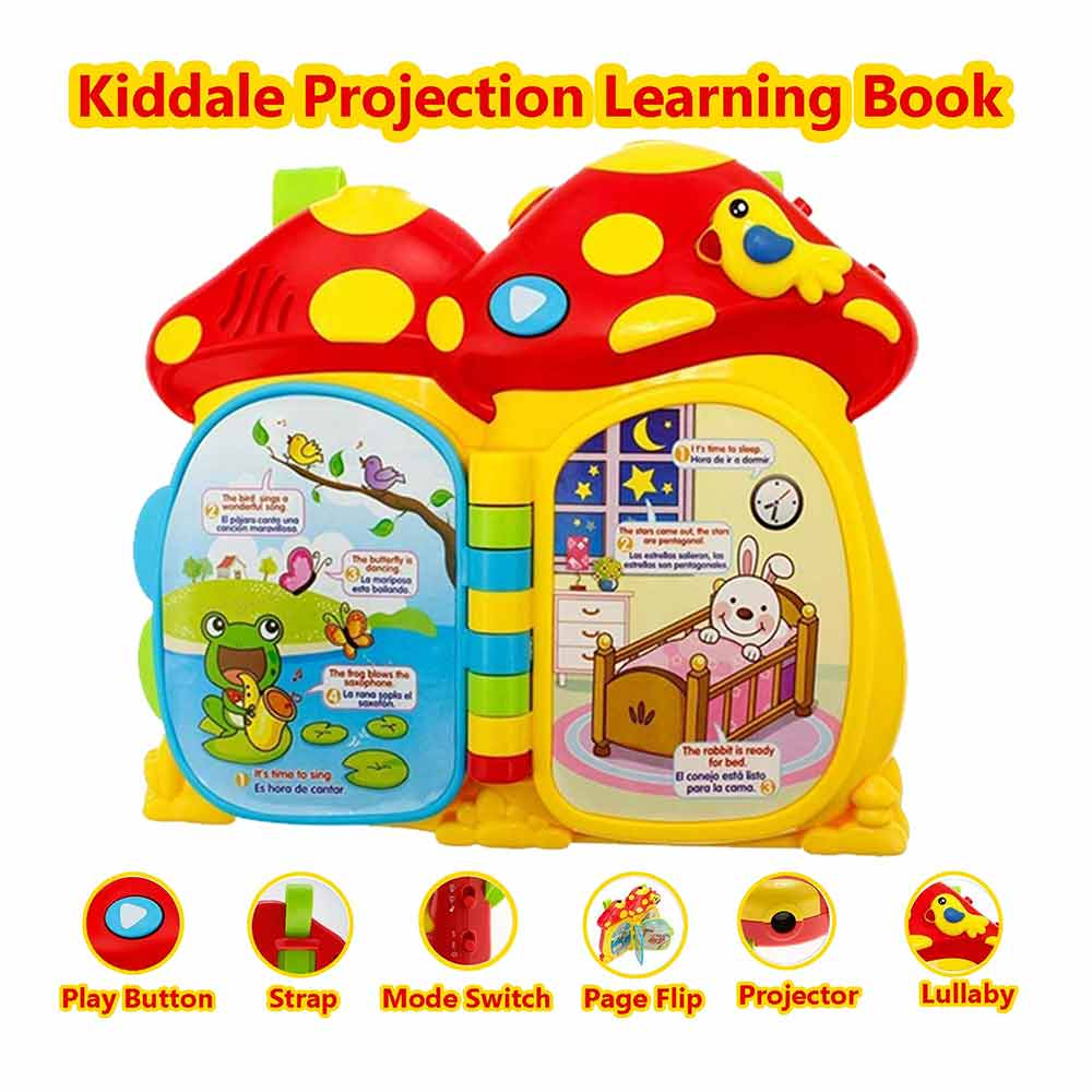 Kiddale 6 in 1 Multipurpose Activity Cube Toy for Toddlers