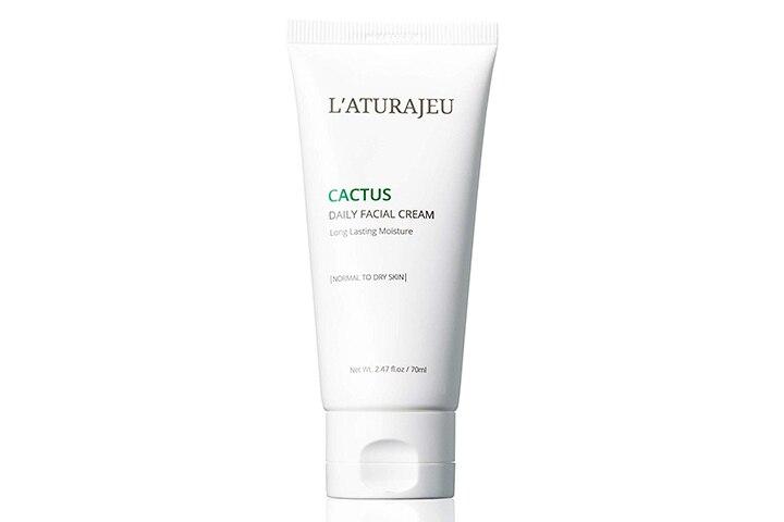 L'ATURAJEU 10-Free Korean Cactus Moisturizer Cream