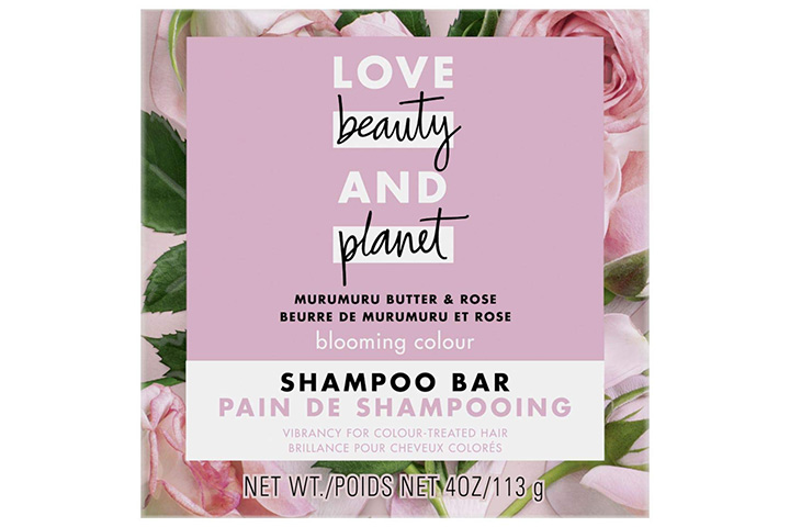 Love Beauty And Planet Blooming Color Shampoo Bar for Color Treated Hair