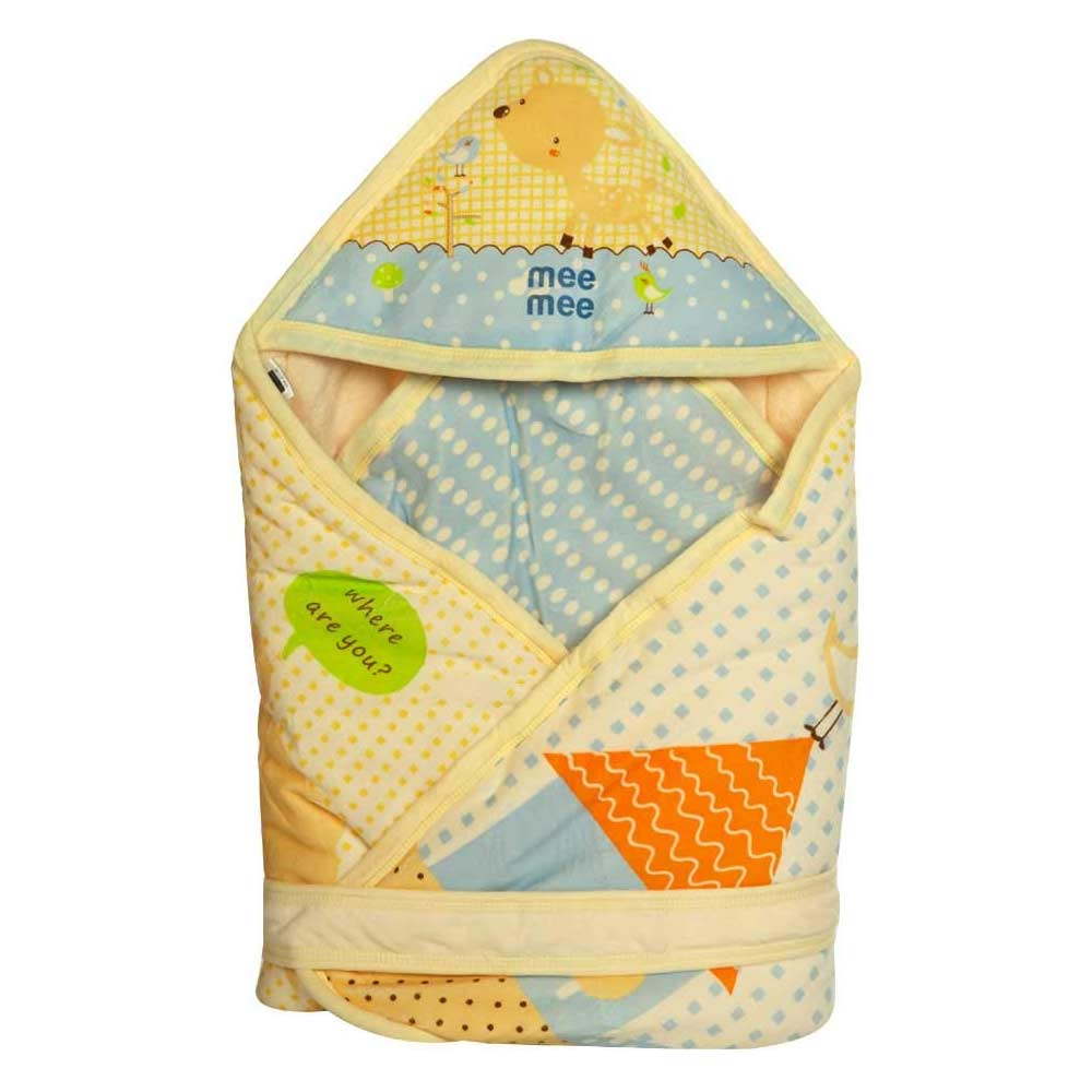 Mee Mee Cozy Cocoon Baby Wrapper with Hood