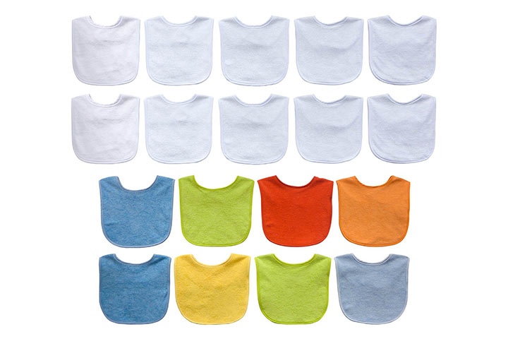 Neat Solutions Solid Terry Feeder Bibs