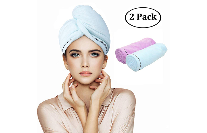 Orthland Microfiber Hair Towel Wrap