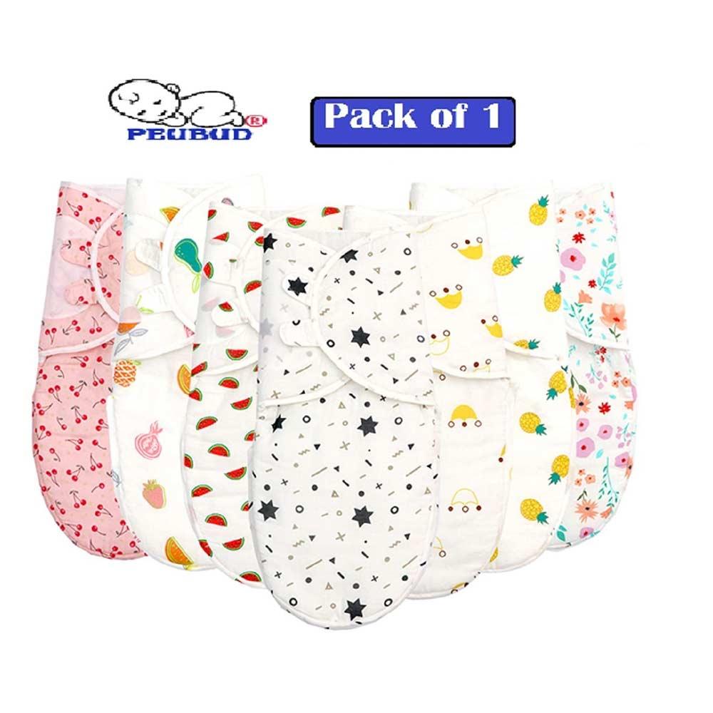 PEUBUD Pure Cotton Soft Swaddlers