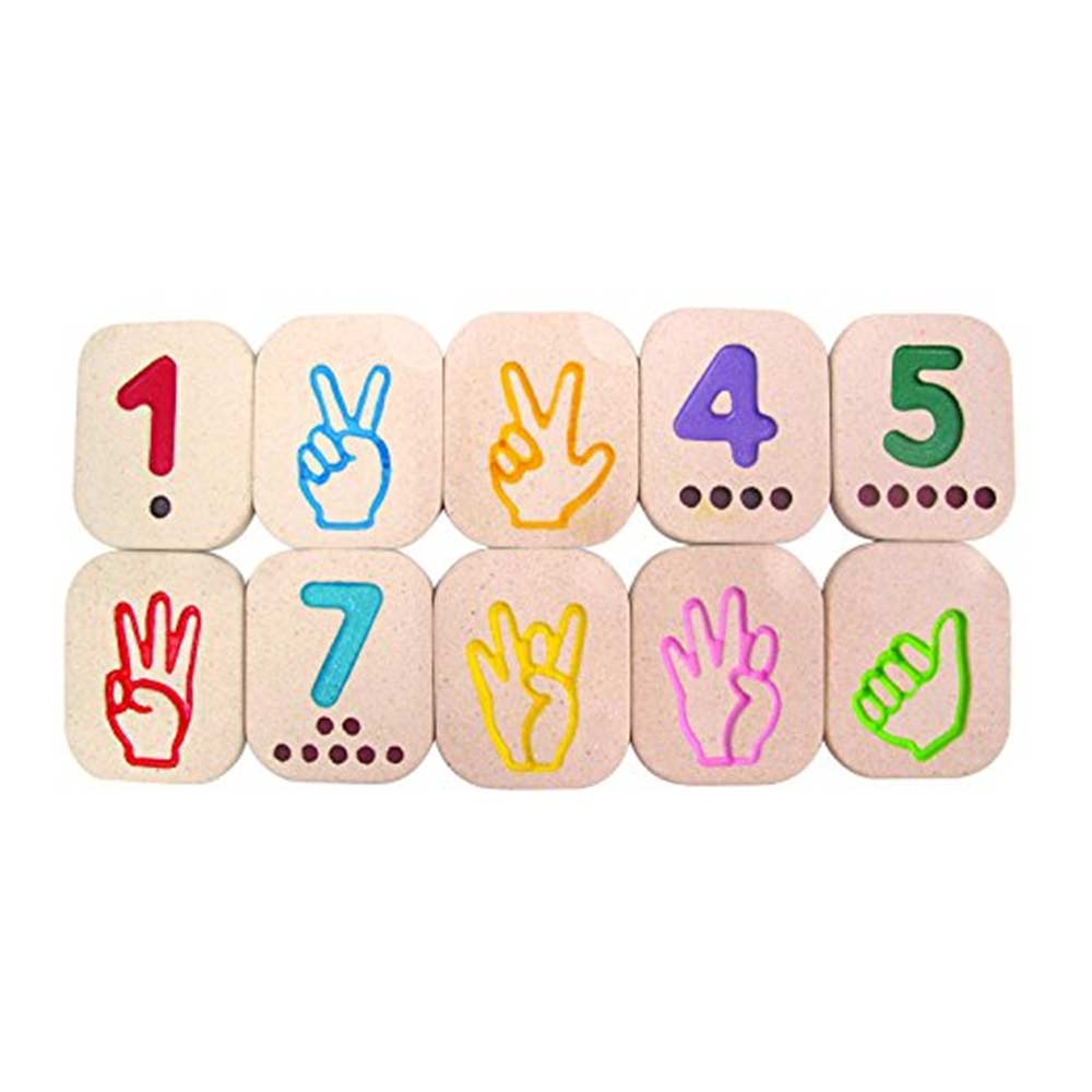 Plan Toys Hand Sign Numbers