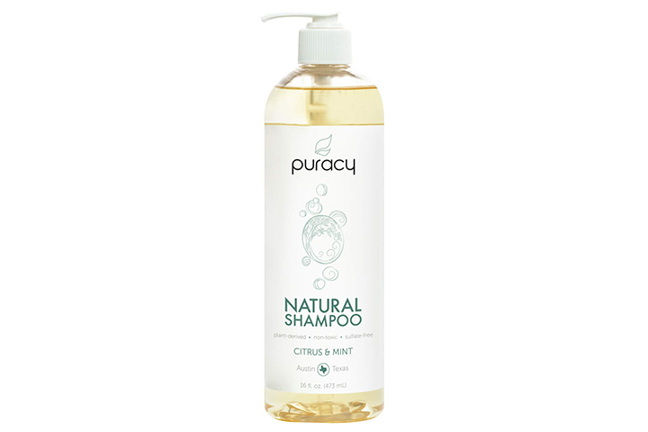 Puracy natural shampoo