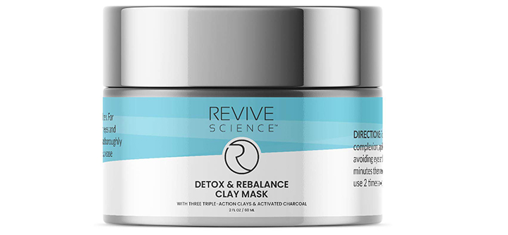 Revive Science Clay Face Mask