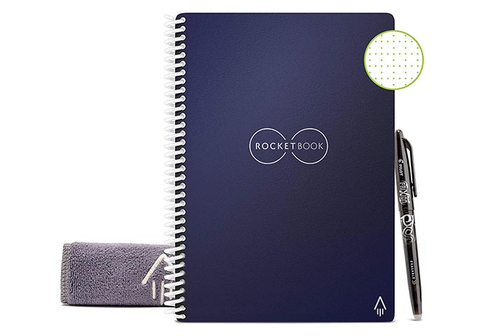Rocketbook smart reusable notebook