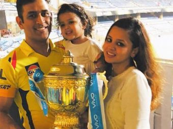 Sakshi Dhoni Wishes Her Daughter Ziva Dhoni On Her 5th Birthday With A Throwback Picture