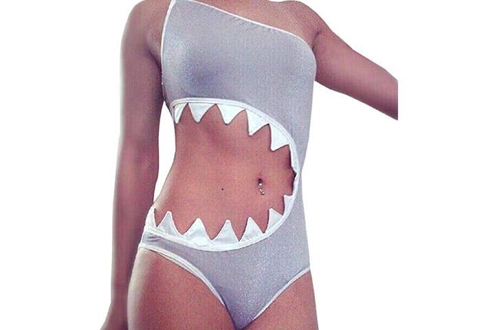 Sandbank Women's One Piece Shark's Mouth Swimsuit